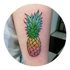 Hawaii travel tattoos images Best 25 pineapple tattoo ideas small tattoos jpg