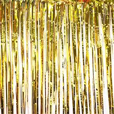 where to buy gold foil interesting gold metallic curtains and tinsel gold metallic foil