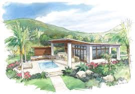 outdoor living floor plans sanctuary villas herlong architects architecture interior design