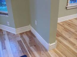 White Wood Floors Laminate Modern Baseboard Gives Eclectic Outlook For Every Interior In