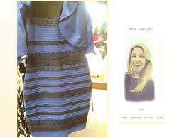 of the dress white and gold or black and blue why see the dress