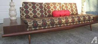 restored vintage 1950s adrian pearsall sofa couch mid century
