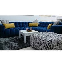 canapé l canapé d angle domitia design séjour salon