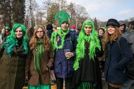 why do russians attend a parade celebrating an irish catholic