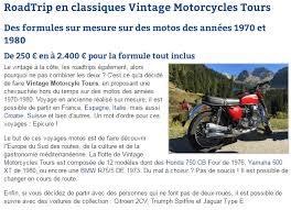 si e auto la route and vintage road motorbikes motorcycles tours vintage