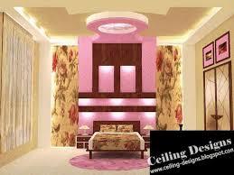 latest false ceiling designs for hall black gloss headboard white