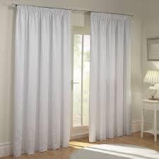 White Lined Curtains Paisley White Luxury Jacquard Duvet Cover White Colour
