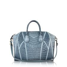 Givenchy Antigona Cowhide Givenchy Antigona Croc Embossed Tote Bag