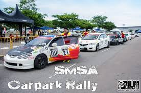smsa carpark rally powaa garage