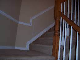 Cost To Decorate Hall Stairs And Landing Hall And Stairway Trim Work Low Maintenance Shadow Boxes All