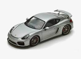 porsche cayman silver spark 1 43 porsche cayman resin model car s4941