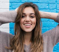 sadie robertson love her hair sadie robertson chronicles her journey to peace in live fearless
