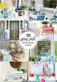Farmhouse Patio Ideas by 20 Beautiful Spring Porch And Patio Ideas Home Stories A To Z