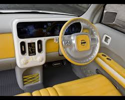 nissan cube interior denki cube electric car concept 2008