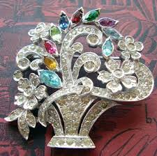 623 best brooches vintage and bouquets images on