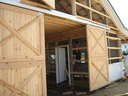 Exterior Sliding Barn Door Kit Build Your Exterior Barn Doors With Sliding