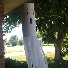 Halloween Tree Craft by Ghost Windsocks Dollar Tree Halloween Series Child At Heart Blog