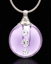cremation ashes jewelry lavender security ashes jewelry and purple memorial lockets in the