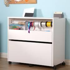 Craft Storage Cabinet Prestington Marine 2 Drawer Mobile Craft Storage Cabinet U0026 Reviews