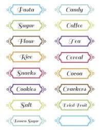 labels for kitchen canisters free printable pantry labels pantry labels pantry and free