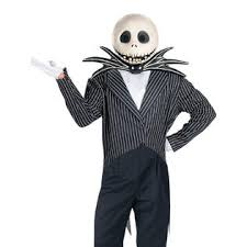 skellington costume disguise mens deluxe scary skellington costume nightmare