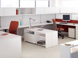 Office Desk Design Ideas Impressive Modern Home Office With Black Glass Table In Top