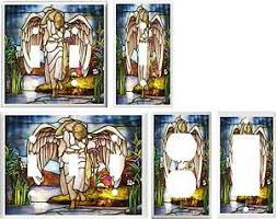 ebay stained glass ls stained glass angel image light switch cover plate u pick size ebay