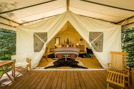 Tent Building Glamping The 9 Best Resorts In The U S Curbed