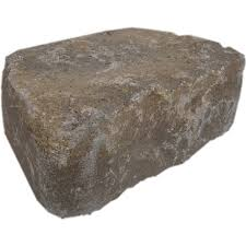 Garden Retaining Wall Blocks by Shop Flagstone Harvest Blend Retaining Wall Block Common 4 In X