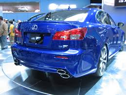 lexus isf blue file lexus is f showroom floor jpg wikimedia commons