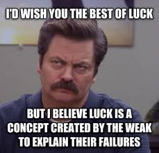Ron Meme - oh ron swanson you re so wise weknowmemes