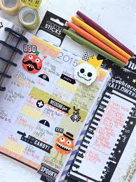 the happy planner spooky october monthly spread u2014 me u0026 my big ideas