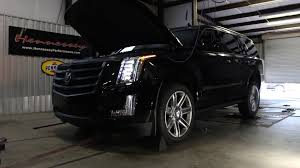 cadillac escalade performance upgrades 665 hp 2015 cadillac escalade dyno testing