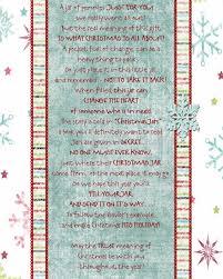 christmas jar poem printable christmas traditions pinterest