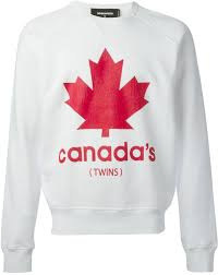 canada sweater dsquared2 canada print sweatshirt where to buy how to wear