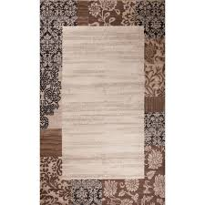 Concord Global Area Rugs Concord Global Trading Matrix Collection Moda Ivory 6 Ft 7 In X