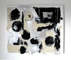 Peinture Noir Et Blanc by Tableau Moderne Noir Et Blanc