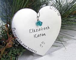 baby memorial ornament etsy