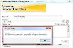 Symantec Service Desk Encrypting And Decrypting A Single File Or Folder With Symantec