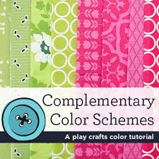 complementary colors pink color chat complementary colors play crafts