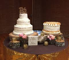 wedding cake with banana pudding grooms cake
