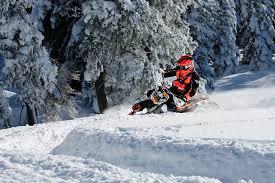 motocross snow bike dirt vs snow first time on a snow bike motocross feature