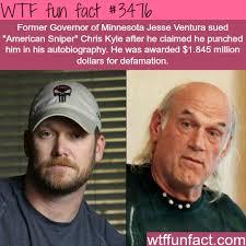 Chris Kyle Meme - american sniper chris kyle and jesse ventura wtf fun facts
