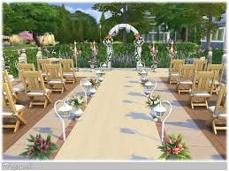 wedding arches in sims 4 wedding place 01 by tugmel at the sims resource sims 4 updates
