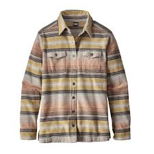 Most Comfortable Flannel Shirt Patagonia Women U0027s Long Sleeved Fjord Flannel Shirt