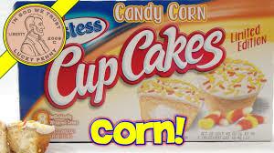 candy corn cup cakes hostess halloween treats youtube
