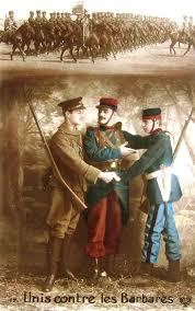 Couleurs En Anglais Francais Le 12 Octobre 1915 L Admirable Effort Anglais 1915 à L