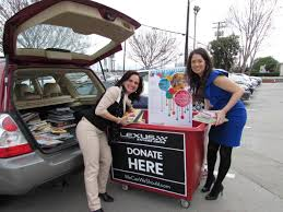 lexus service in san jose lexus guests donate hundreds of books to grail family services