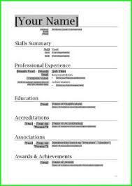 Build A Resume Free Resume Format For Making A Resume 11 Free Resume Samples Writing Guides