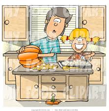 halloween food clip art food clip art of a brother and sister carving a jack o lantern